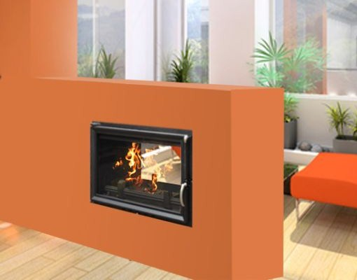 Hestia Double Sided Boiler Stove Tunnel 17-22kW